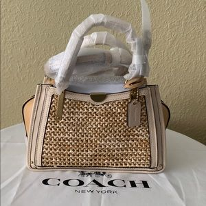 NWT COACH 69623 Colorblock Satchel